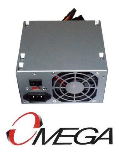 fuente de poder atx 525w selladas en caja sata computadora