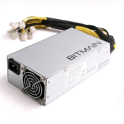 fuente de poder bitmain para antminer 1600w l3,s9,t9