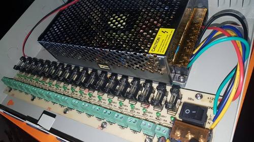 fuente de poder centralizada 18 canales 20 amperios
