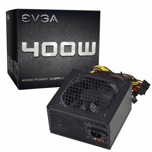 fuente de poder certificada evga 400 watts