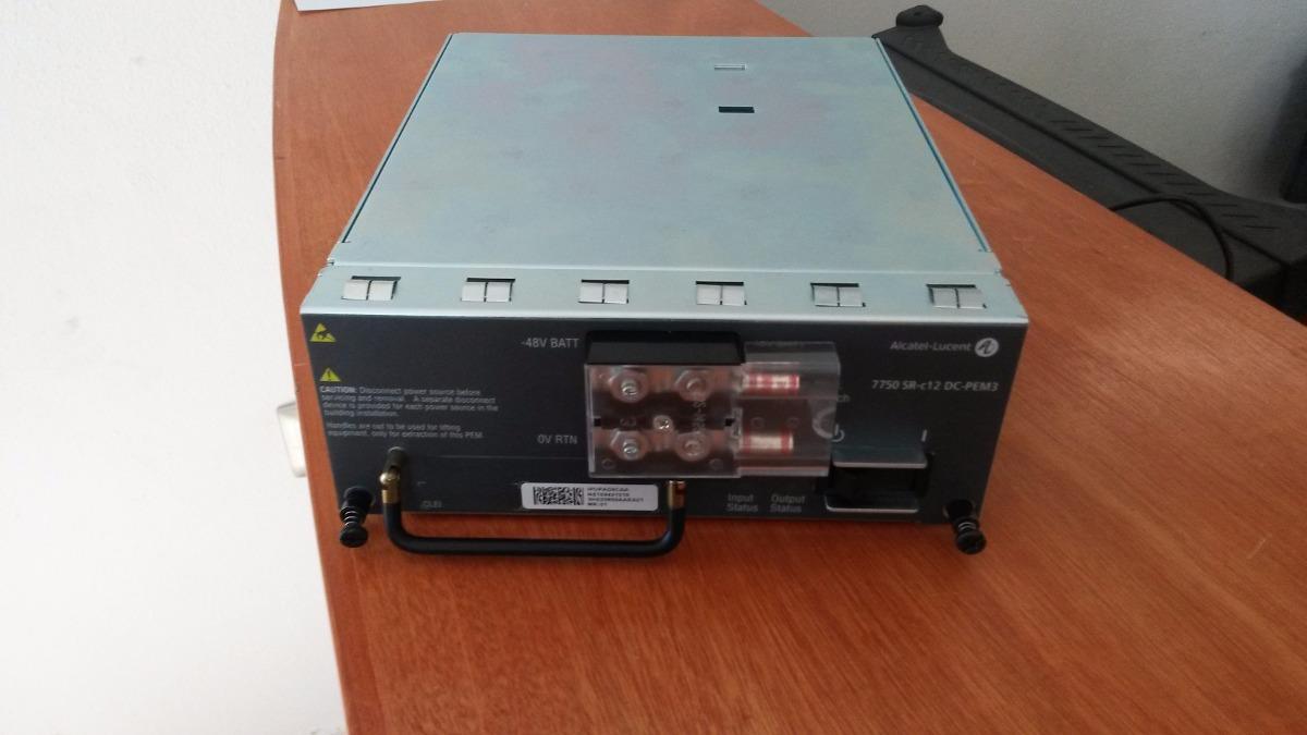 Fuente De Poder  Dc-pem3  Alcatel Lucent Para 7750 Sr-c12