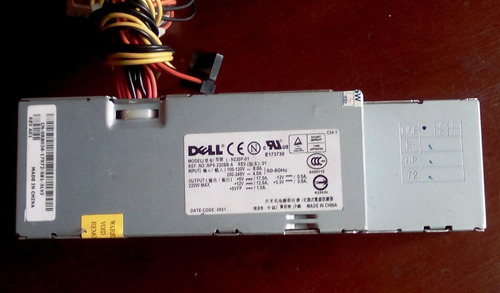 fuente de poder dell modelo n220p-01 ref nps-220 bba