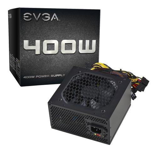 fuente de poder evga 400w power supply 2 años garantia
