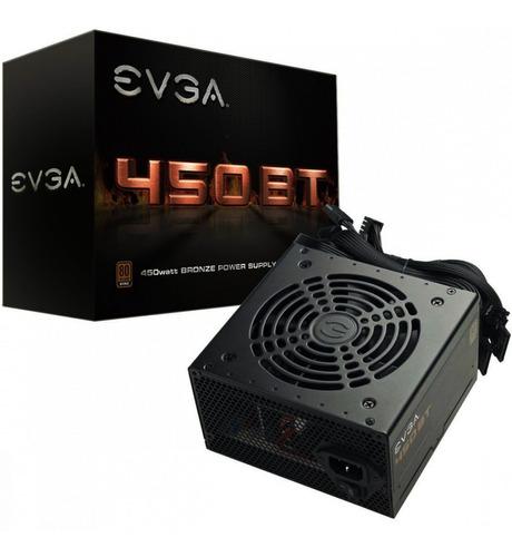 fuente de poder evga 450w 80 plus bronze 100-bt-0450-k1