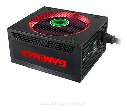 fuente de poder gamemax 1050w gold rgb modular oferta