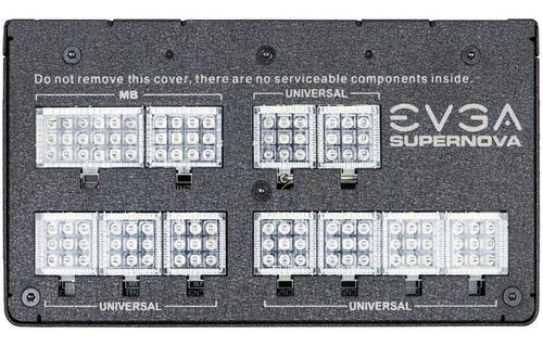 fuente de poder gamer evga supernova 850w g2l 80 plus gold