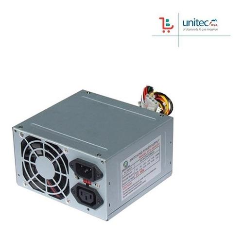 fuente de poder generica unitec para pc 750w ventilador 8cm