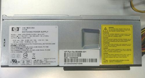 fuente de poder hp slim s5148hk garantía contra todo defecto