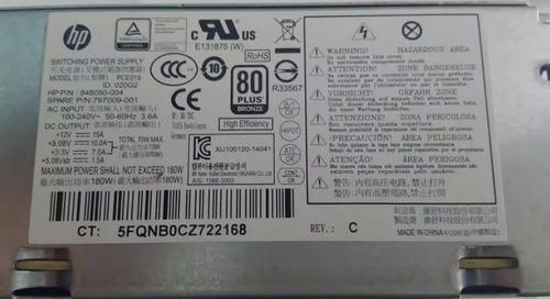 fuente de poder hp slimline fh-zd221mgr | sku- 15234 |