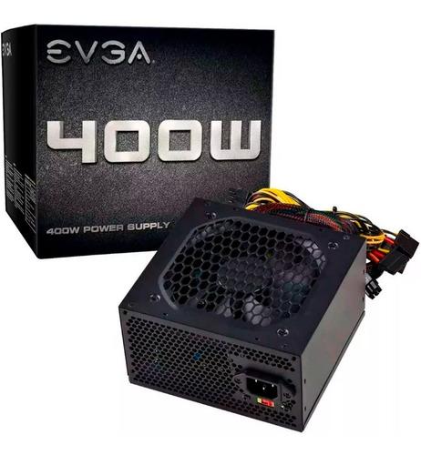 fuente de poder pc 400w gamer evga 100-n1-0400-l1 atx