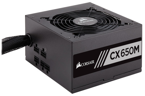 fuente de poder pc corsair cx650m 650w 80 plus bronze atx rf