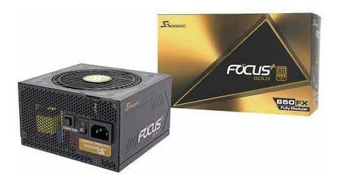 fuente de poder seasonic focus 80+ gold 750 w