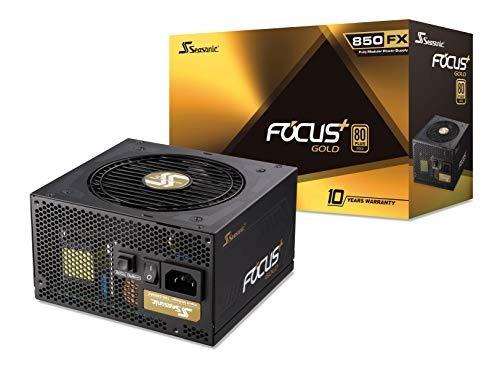 fuente de poder seasonic focus plus 850 gold 850w 80+ gold
