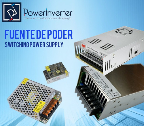 fuente de poder - switching power 110-220vac /24vdc 20a 480w