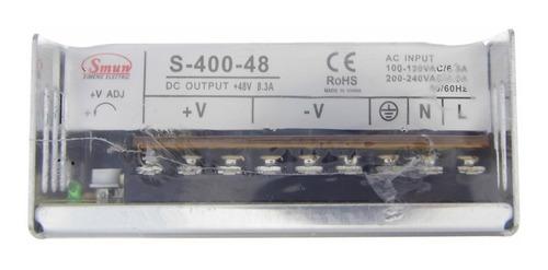 fuente de poder transformador 48v 8.3a 400w cnc envio gratis