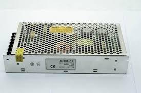 fuente de poder transformador cctv 12v-10 a caja metalica