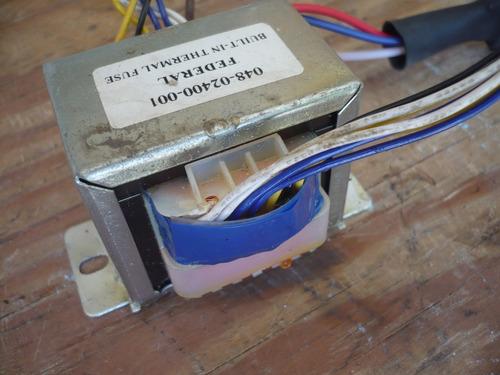 fuente de poder transformador  cd player geminis cdx 2400