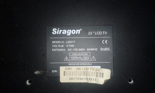 fuente de poder tv lcd siragon de 23  l2301t