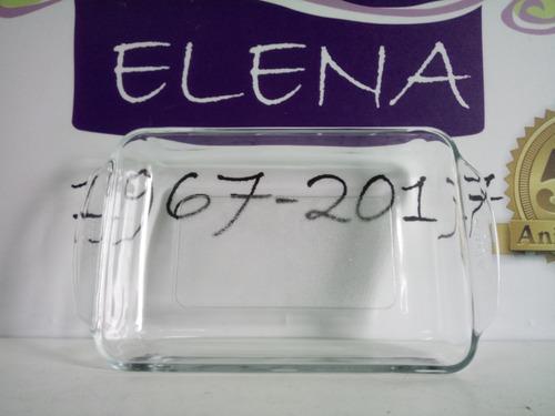 fuente de vidrio templado asadera horno freezer 26,9 x 17 cm