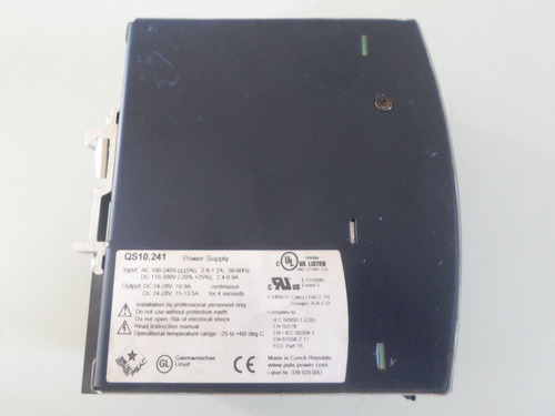 fuente de voltaje 24vcd 10 amp