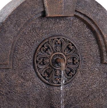 fuente decorativa evans fuente de ornato jardin fd-partenon
