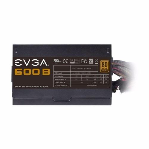 fuente gamer evga 600w 100b1-0600-kr