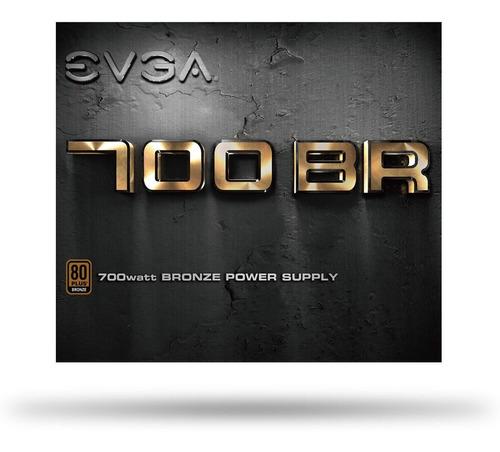 fuente gamer evga 700 br 700w 80 plus bronze