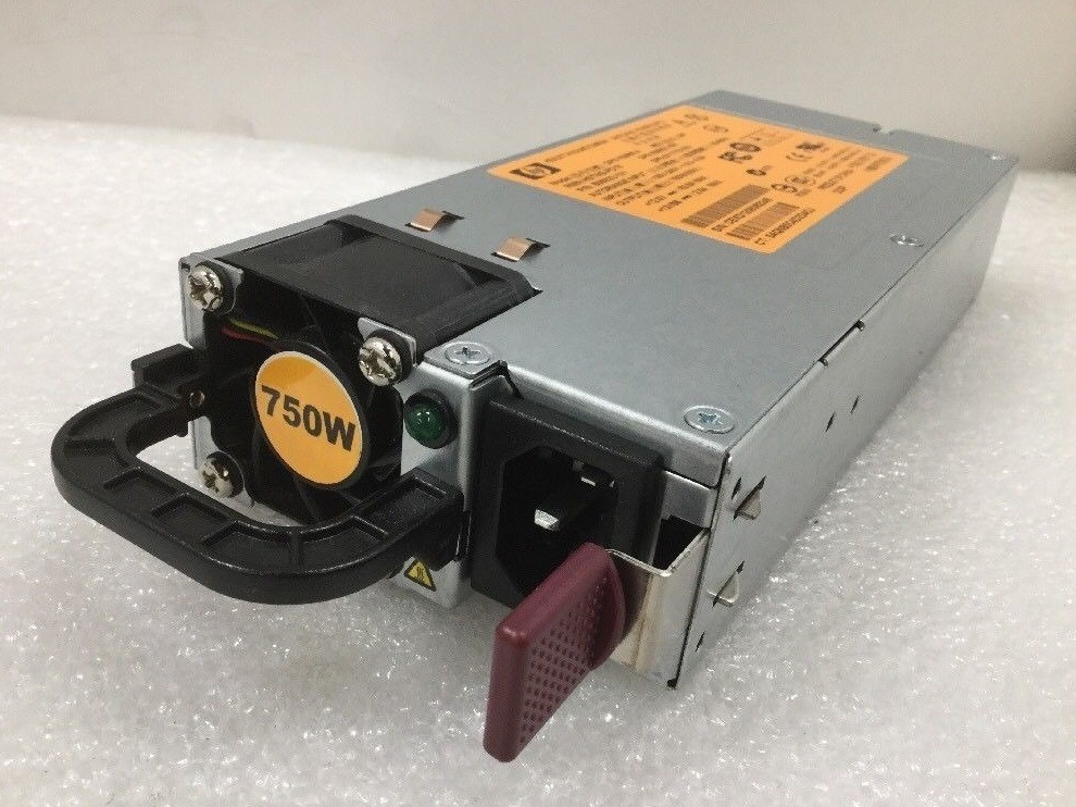 506822 511778 506821 HP 750W PSU Proliant DL380 DL360 DL180 G6//G7 DPS-750RB