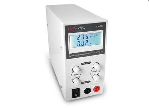 fuente laboratorio regulable digital fullenergy 0-30v 3a max