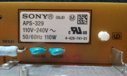 fuente led sony aps-329