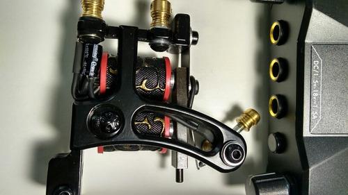 fuente maquina clip cord pedal