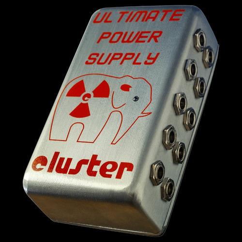 fuente múltiple para 10 pedales de 9v | cluster ups-10