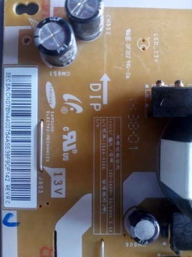 fuente pantalla samsung 40 un40h5153af bn44-00754a