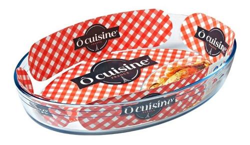 fuente para horno o cuisine  oval 3 litros