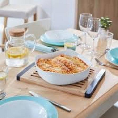 fuente para horno y mesa luminarc smart cuisine 26 x 26 cm