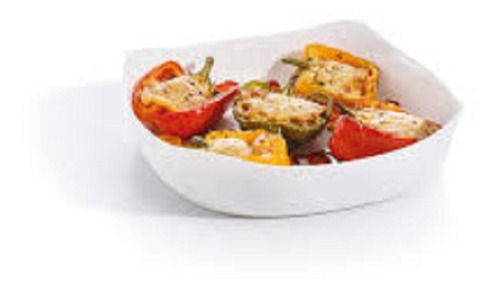 fuente para horno y mesa luminarc smart cuisine 29x29 cm