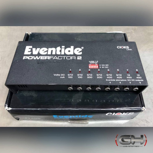 fuente para pedales eventide power factor 2 en stock