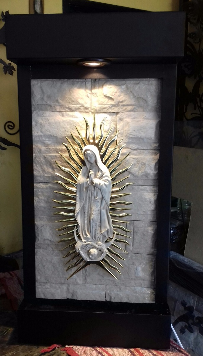 Fuente pared muros llorones virgen guadalupe 3 - Fuentes de pared interior ...
