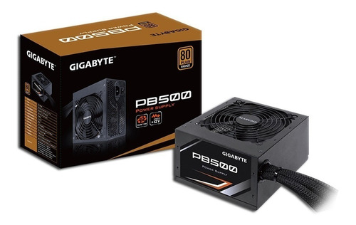 fuente pc gamer atx gigabyte 500w 500 80 plus bronze envio