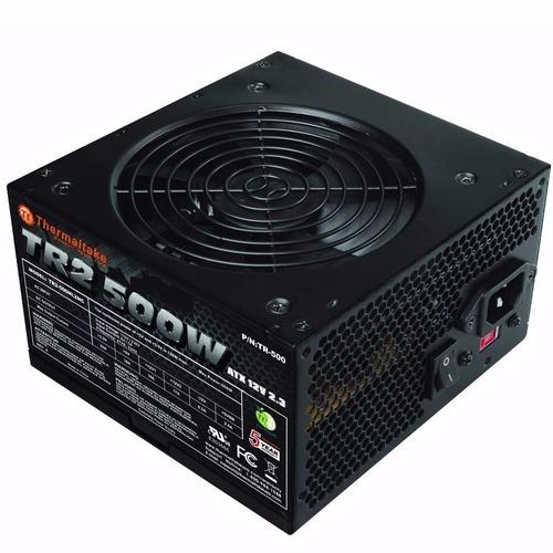 fuente pc thermaltake tr2 500w reales 8 amp tienda oficial