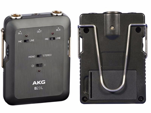 fuente phantom akg b23l para  2 condenser mini canon