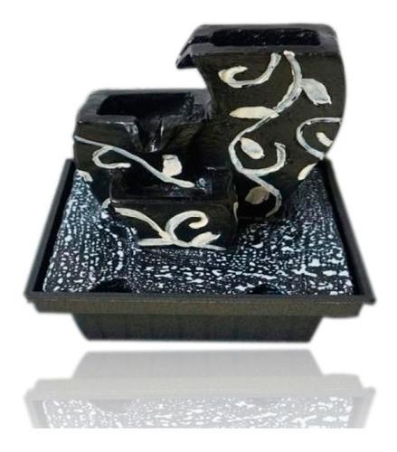 fuente piedras tamaño:13x13x16.5cm-tutti