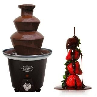 fuente pileta de chocolate,3 pisos,fiestas,eventos,negocio