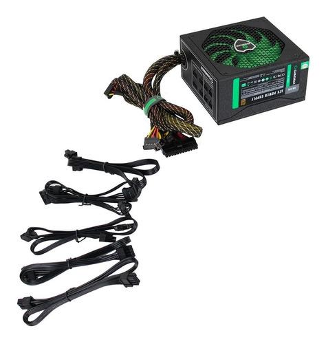 fuente poder gamemax gm-800 800w 80plus bronze
