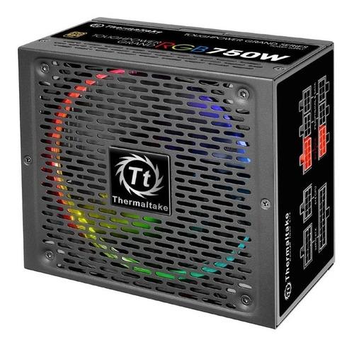 fuente poder modular thermaltake toughpower grand rgb 750w g