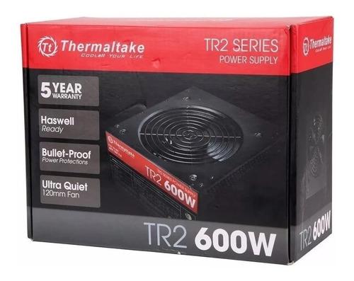 fuente poder thermaltake tr2 600w