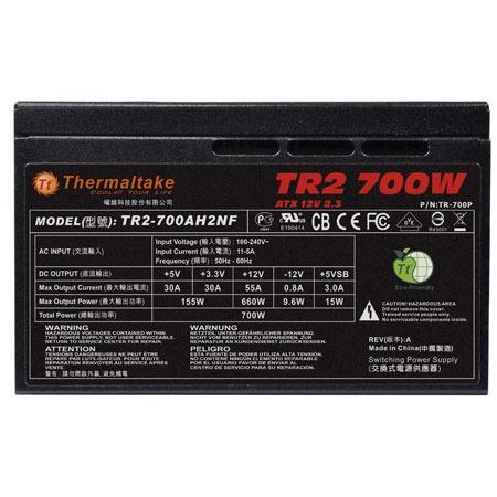 fuente poder thermaltake tr2 700 watts icb technologies