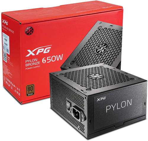 fuente poder xpg pylon 650w 80 plus bronze