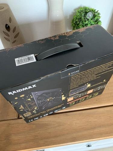 fuente raidmax powercobra 800w nueva