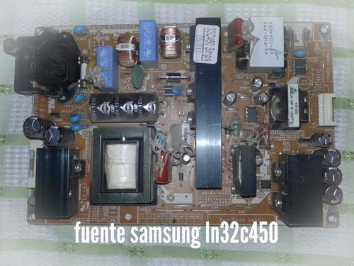 fuente samsung ln32c450